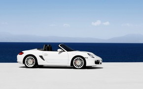 Porsche Boxster S 2009 Beach wallpaper