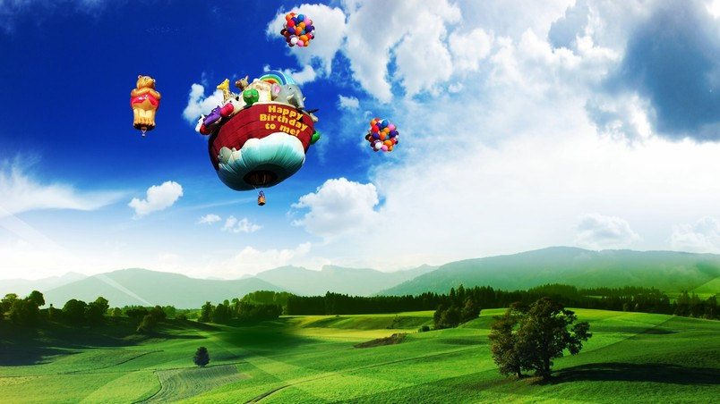 Nature 3D Landscape Fantasy wallpaper
