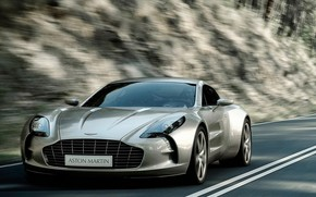Beautiful Coupe Aston Martin Front wallpaper