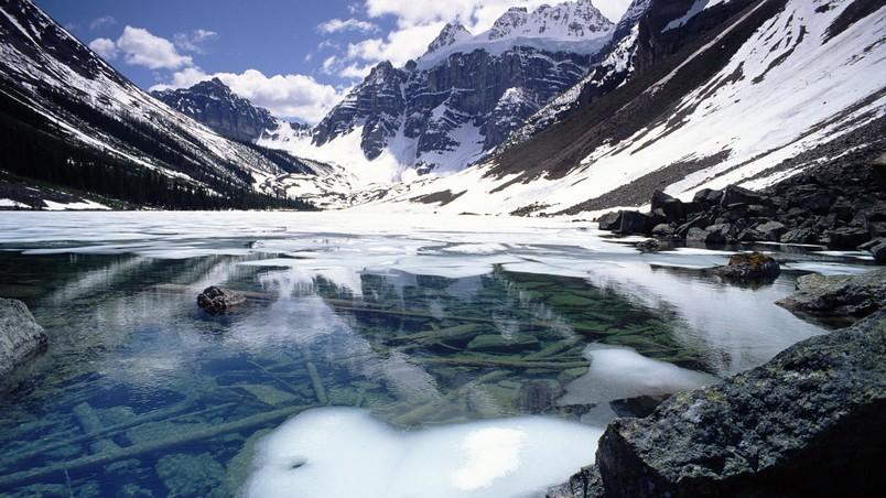 wallpaper amazing mountain lake - photo #25