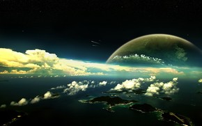 Space Exosphere wallpaper