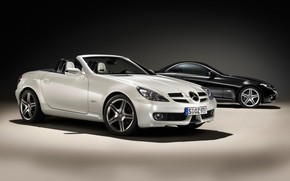 Mercedes Benz SLK 2009 wallpaper