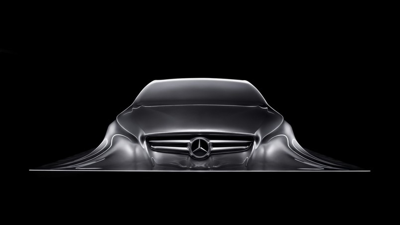 Mercedes-Benz Design Sculpture wallpaper