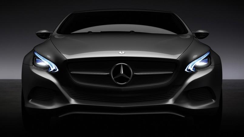 Mercedes Benz F 800 Front Lights Hd Wallpaper Wallpaperfx