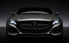 Mercedes-Benz F 800 Front Lights wallpaper