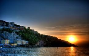 Amazing Lake Sunset