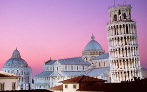 Leaning Tower of Pisa Italy wallpaper