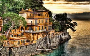 Portofino Coast Genoa wallpaper