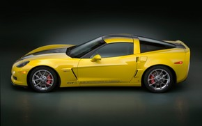 Corvette GT1 Championship Edition Side 2009 wallpaper
