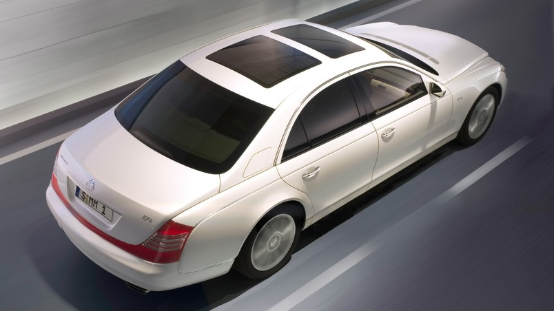 Maybach 57 S Antiqua 2007 White RA Top wallpaper