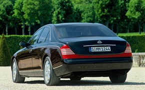 Maybach 57 RA Yard wallpaper