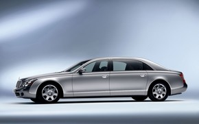 Maybach 62 Left wallpaper