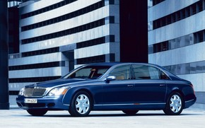 Maybach 62 Outside Left Front wallpaper