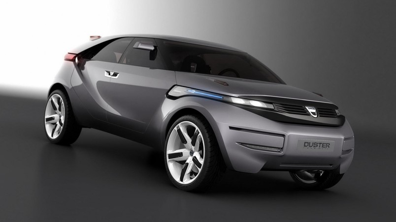 dacia duster crossover concept cool car hd wallpaper wallpaperfx. Black Bedroom Furniture Sets. Home Design Ideas