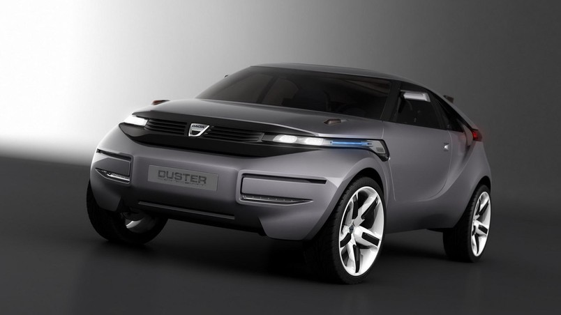 Dacia Duster Crossover Concept Front wallpaper