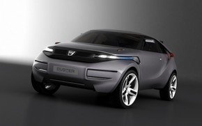 Dacia Duster Crossover Concept Front