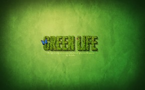 Green Life wallpaper