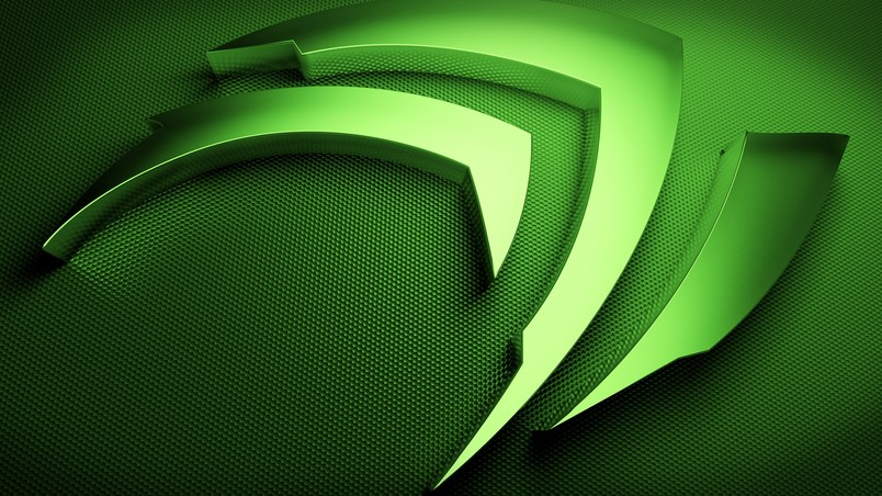 Nvidia shape wallpaper