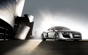 Audi R8 Front Angle wallpaper