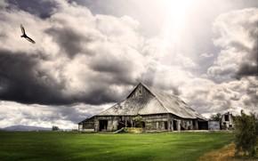 Fantasy House and Landscape