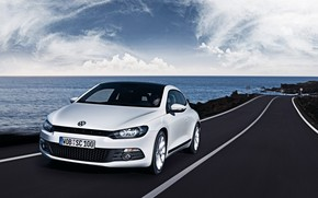 Volkswagen Scirocco Speeding wallpaper