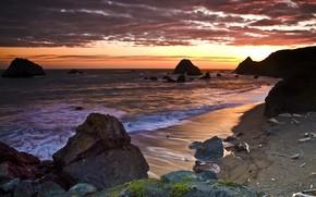 Amazing Sea Sunset