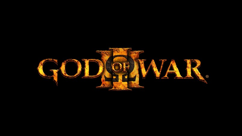 God of War 3 Logo wallpaper