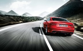 Audi S5 Rear Angle wallpaper