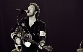 Chris Martin Coldplay wallpaper