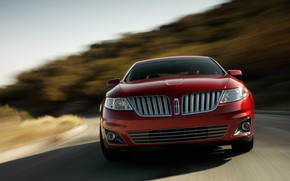 Lincoln Mark MKS 2009 Front wallpaper