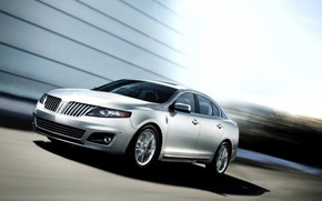 Lincoln MKS 2011 Silver wallpaper