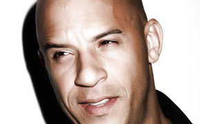Vin Diesel Close Up wallpaper