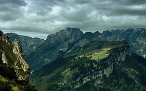 Alpstein before Rain