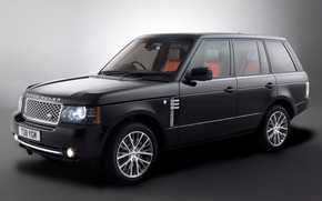 Range Rover Autobiography Black wallpaper