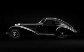 Mercedes Benz 540k Side wallpaper