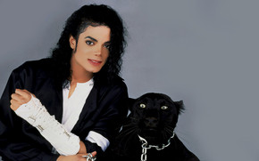 Michael Jackson Panther wallpaper