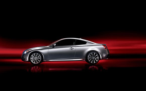 Grey Infiniti G37 Coupe wallpaper
