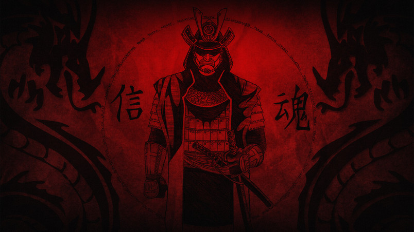 Samurai HD Wallpaper - WallpaperFX