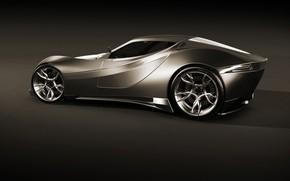 Metalic Concept Car