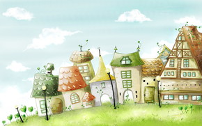 Story House wallpaper