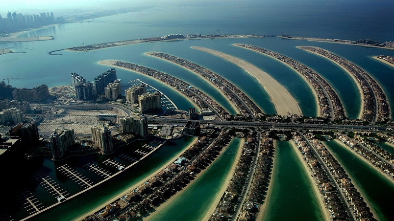 Dubai Palm Island wallpaper