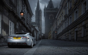Aston Martin DBS Rear Angle wallpaper