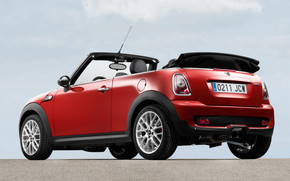 Mini Cooper Convertible Rear And Side wallpaper