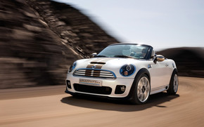 Mini Roadster Concept Front Angle Speed wallpaper