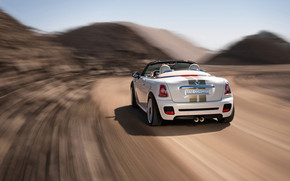 Mini Roadster Concept Rear Angle Speed wallpaper