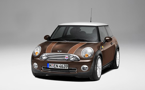 Mini 50 Mayfair Front Angle wallpaper