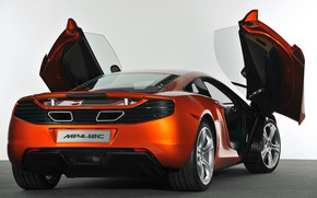 McLaren MP4 12C 2011 wallpaper