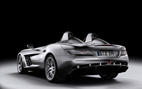 Wonderful Mercedes Coupe Cabrio Rear Angle wallpaper