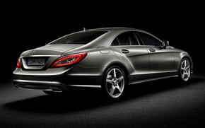 Mercedes CLS 2010 Rear wallpaper