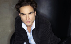 Johnny Galecki Glance wallpaper